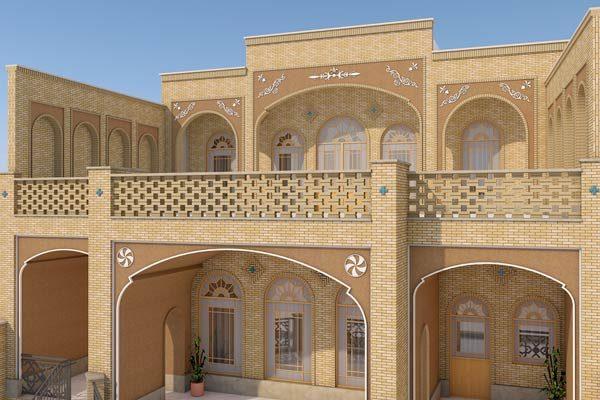 طراحی ساختمان مسکونی آقای میرحسینی میبد