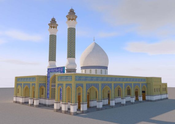 باز-طراحی امامزاده اظهرالدین هشتگرد
