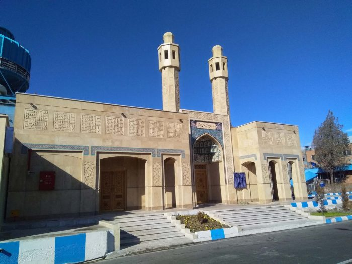 طراحی نمازخانه جامع شهدای ایرانخودرو