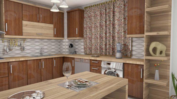 طراحی و اجرای آشپزخانه و کابینت